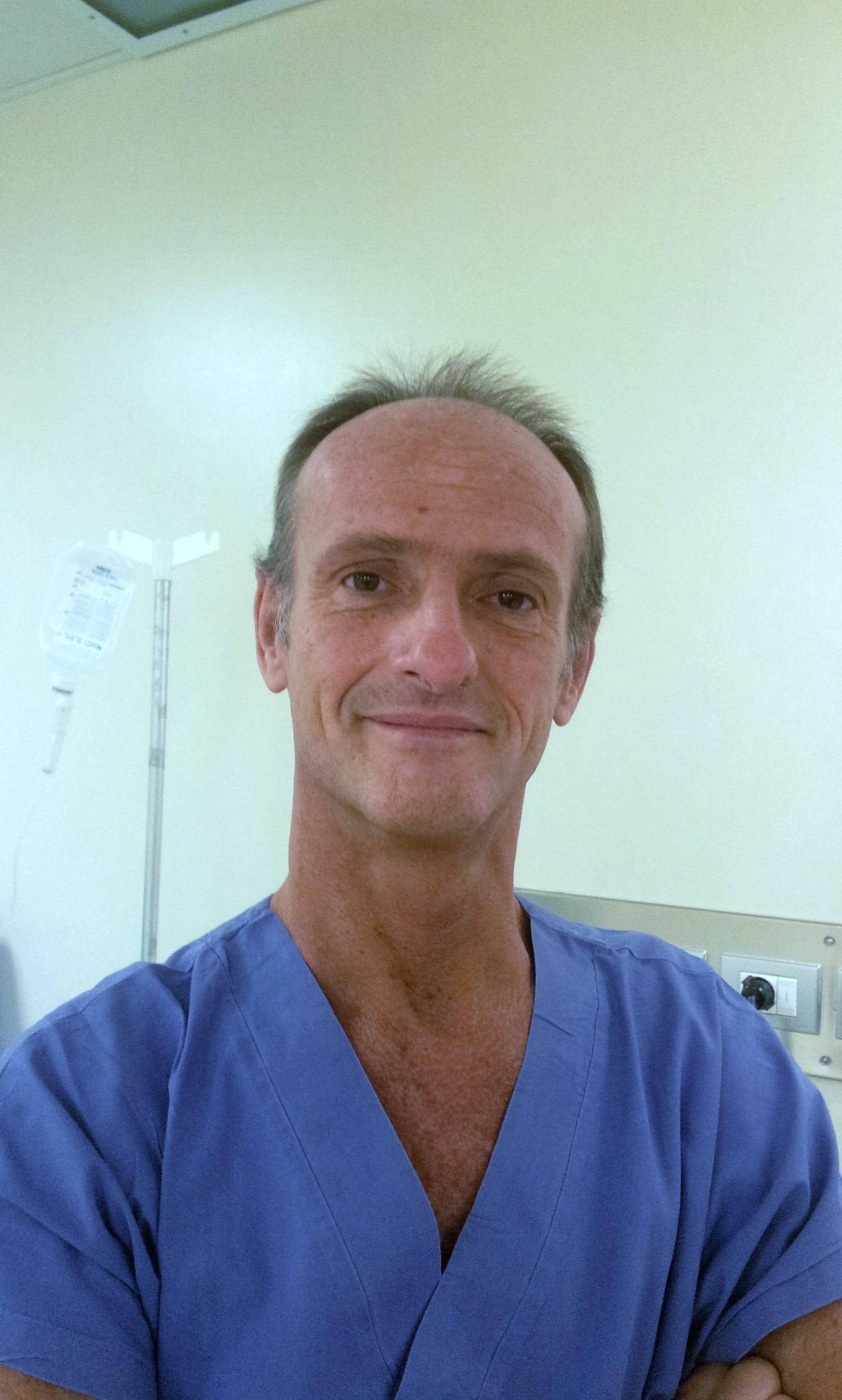 Il dr. Massimo Berruto